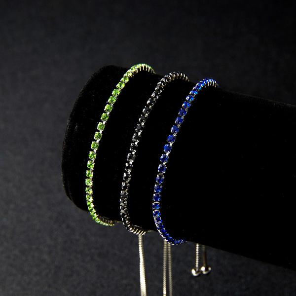 Pachet Cristal Color Tennis Bracelet 2 + 1 Cadou